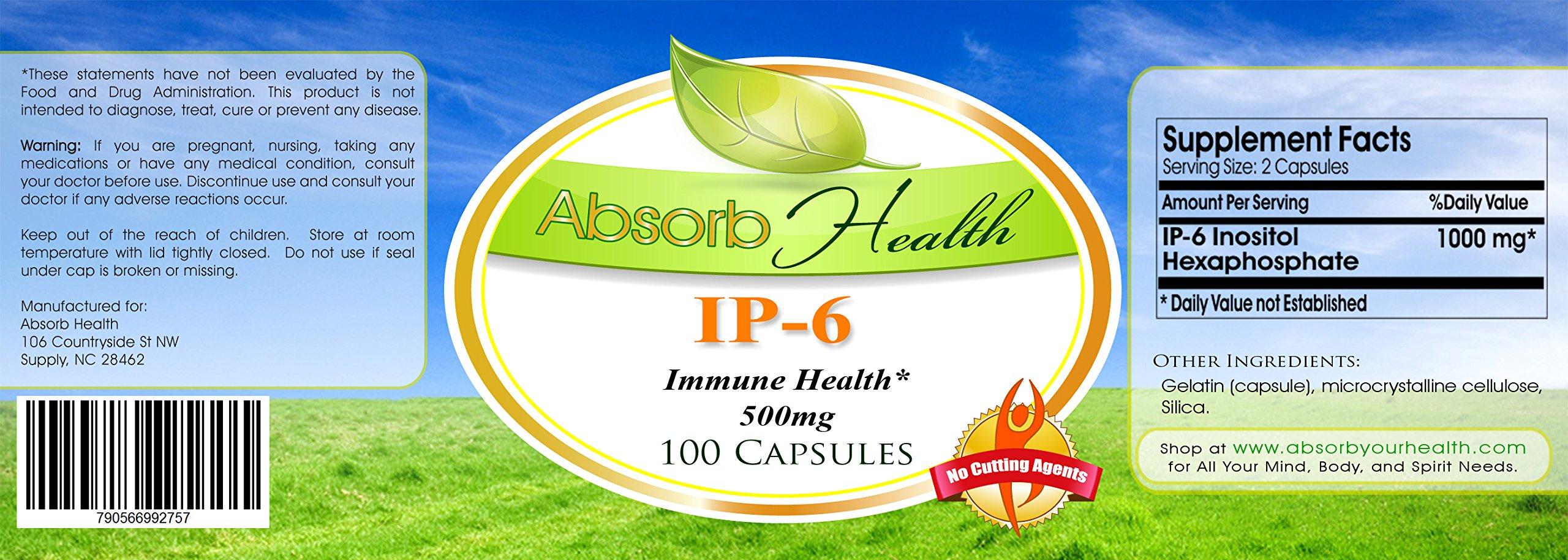 IP-6 Inositol | 100 Capsules | 500mg per Capsules