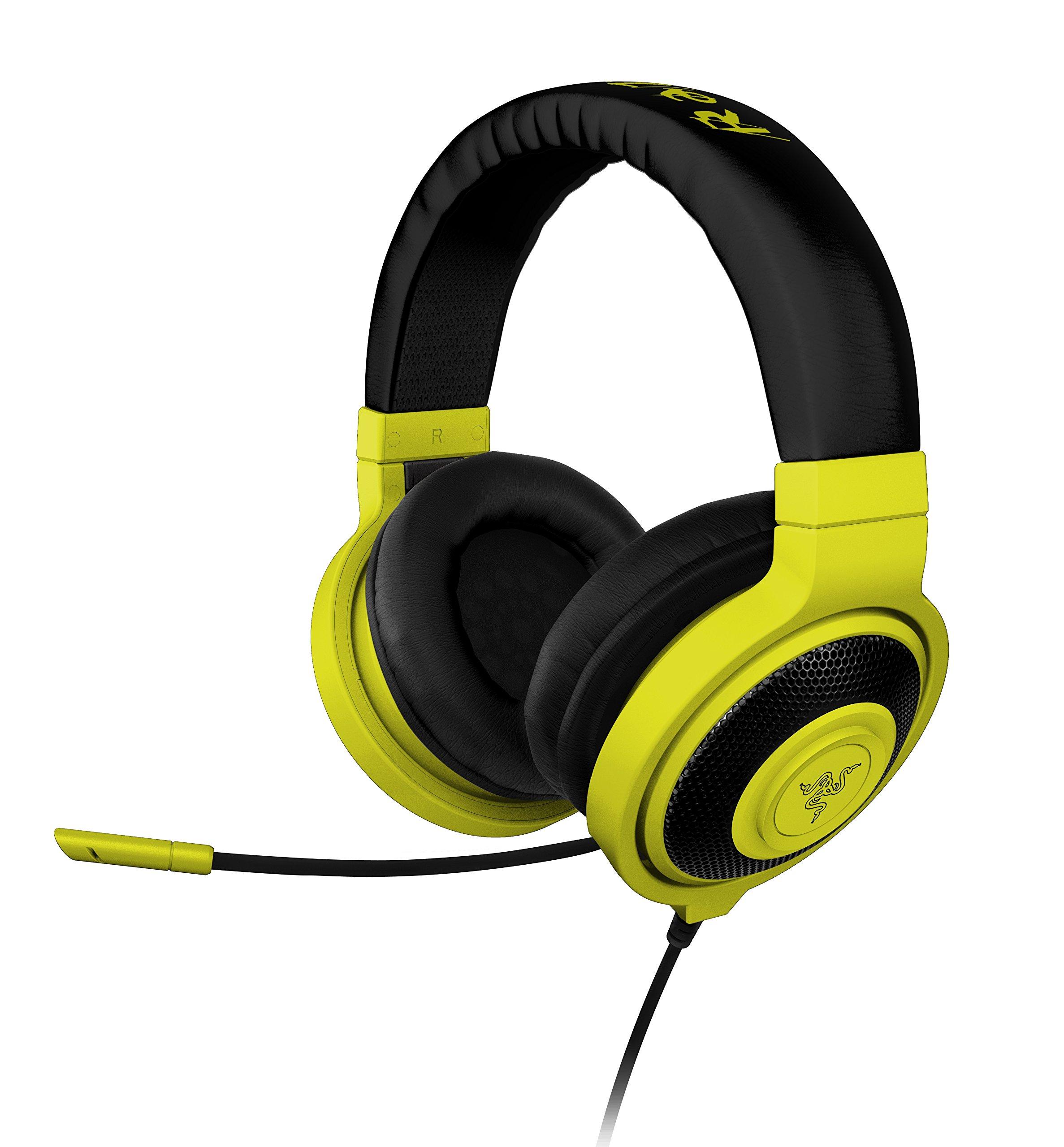 Razer Kraken PRO Over Ear PC and Music Headset - Neon Yellow