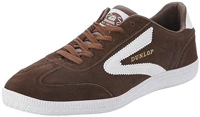 Dunlop Clay Court 5106809, Damen Sneaker, Braun (brown), EU 44