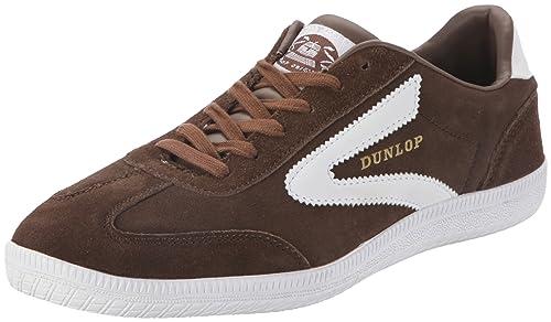 Dunlop Clay Court dark earth 5106809-43 - Zapatillas de ante para hombre: Amazon.es: Zapatos y complementos