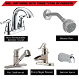 SmarterFresh Six Piece Faucet Adapter Kit, Brass