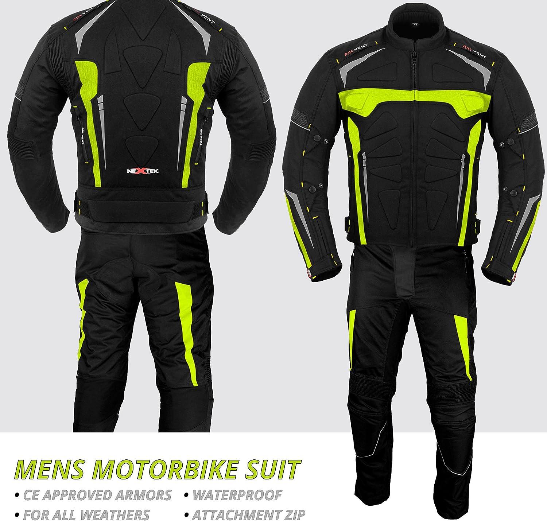 para todo tipo de clima 2 piezas Traje de motocicleta para hombre para motocicleta para hombres y ni/ños impermeable