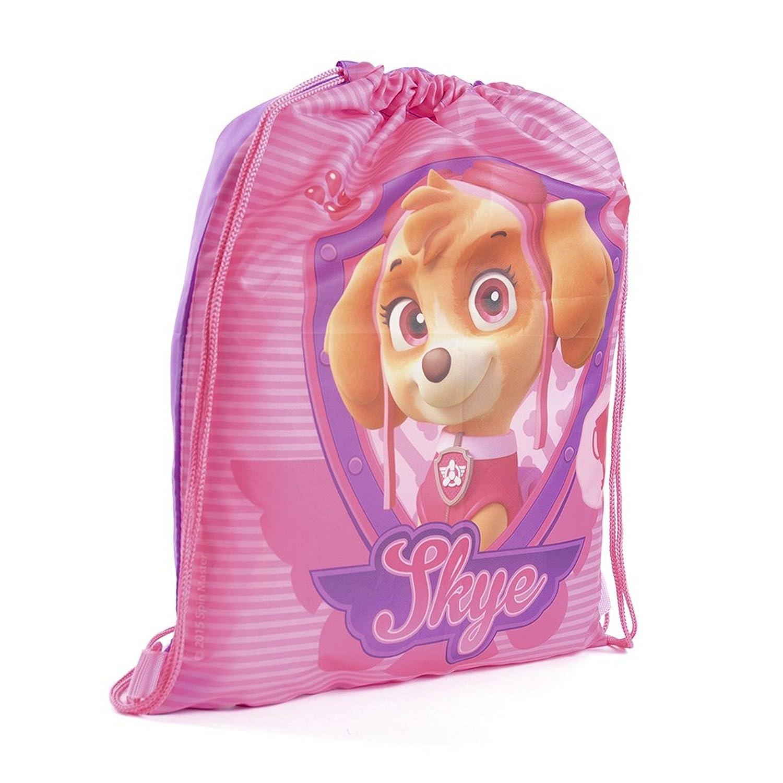 Paw Patrol Childrens Girls Skye Official Drawstring Gym Bag (One Size) (Pink) UTBAG238_1