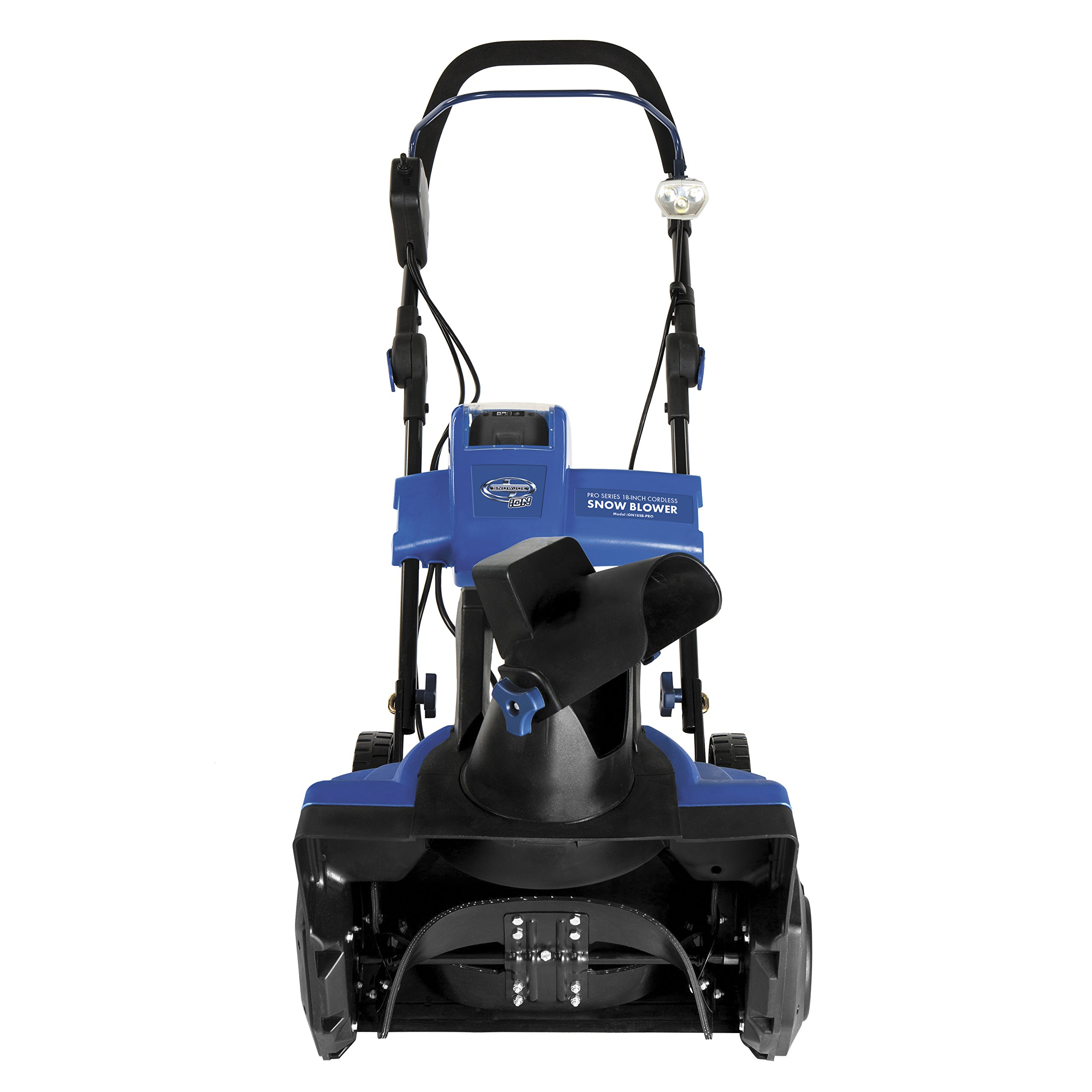 Snow Joe iON18SB-PRO-RM Cordless Single Stage Snow Blower   18-Inch   5 Ah Battery   Brushless (Certified Refurbished)