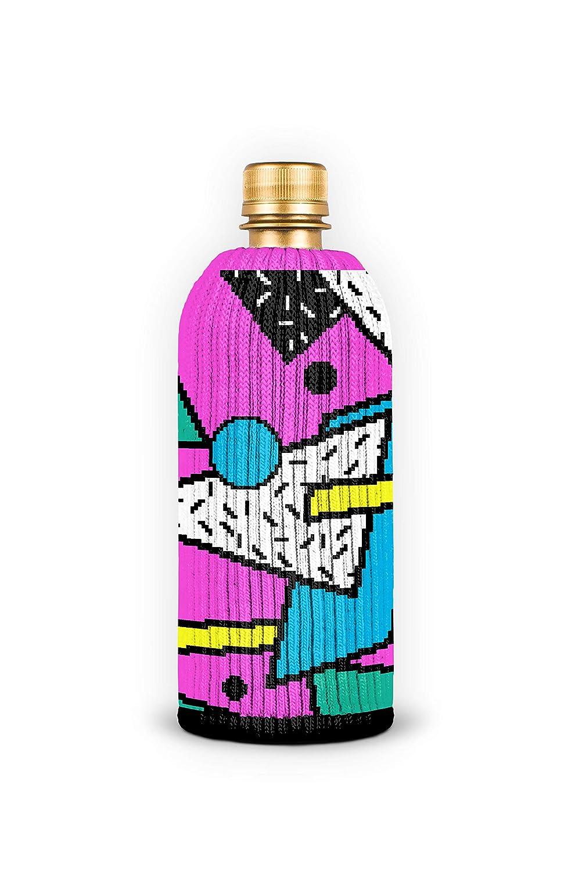 Stops Bottle Sweat FREAKER Fits Every Bottle Can Beverage Insulator New Wave 80s Retro
