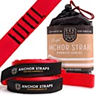 Two Tree Hammock Co. ...Summer Blowout Sale. The Original Hammock Tree Straps are The Easiest and Fastest Way to Hang Your Hammock! (Red)