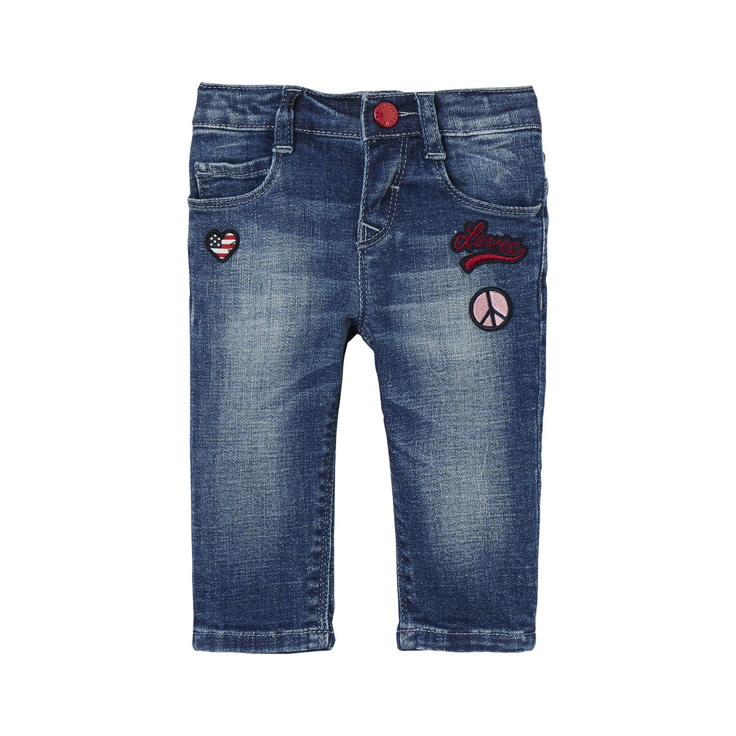 Levi's Kids Pant Starly, Pantalon Bébé Fille Levi' s Kids Pant Starly NK22534