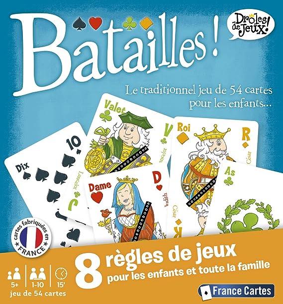 France Cartes 410420 Jeu De Societe Batailles Amazon Fr Jeux Et Jouets
