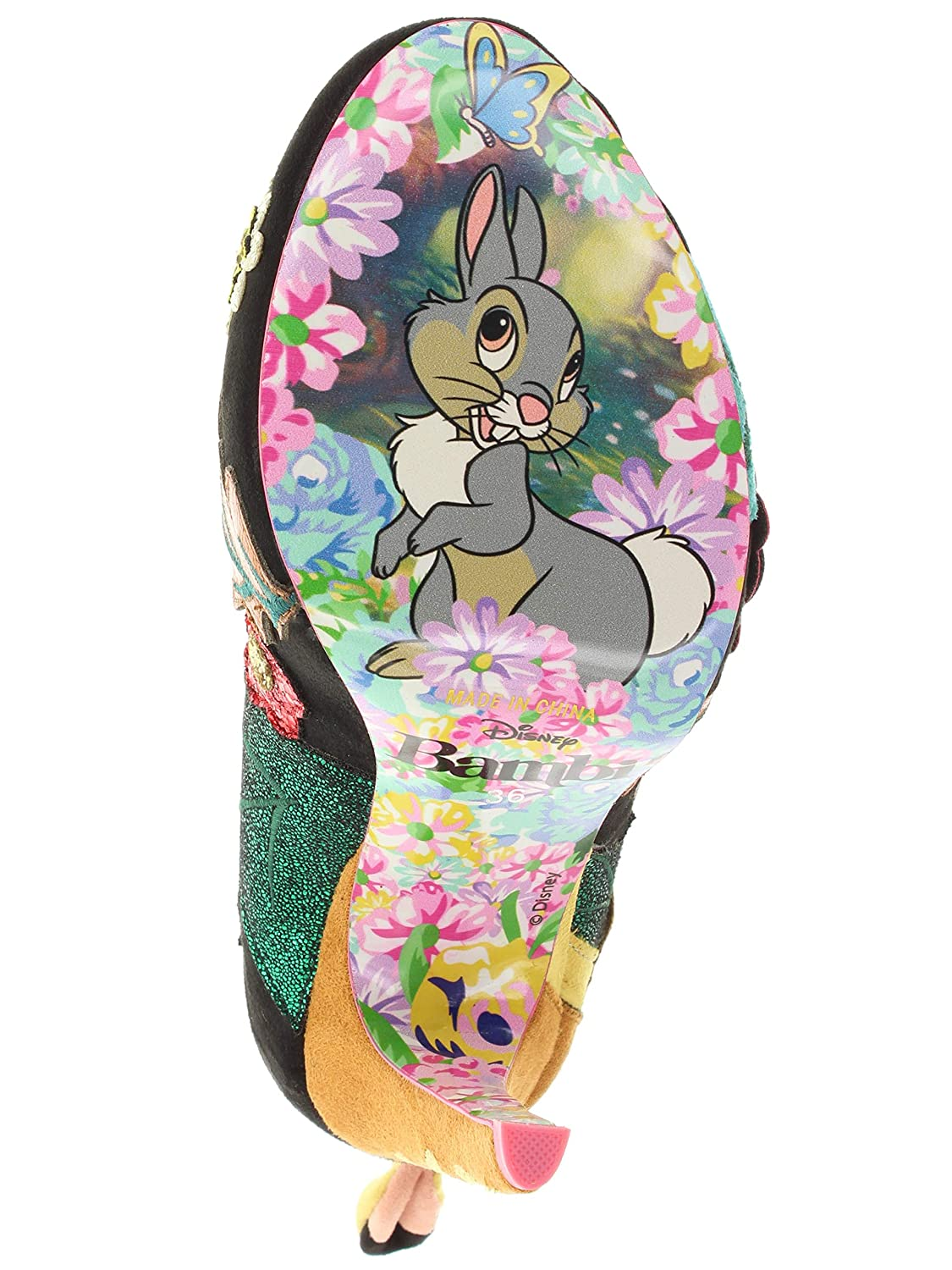 Irregular Choice Bambi by High Heels Prince of of of The Forest 4330-08A bd8378