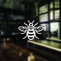 Set of 22 Small Manchester Bee Stickers