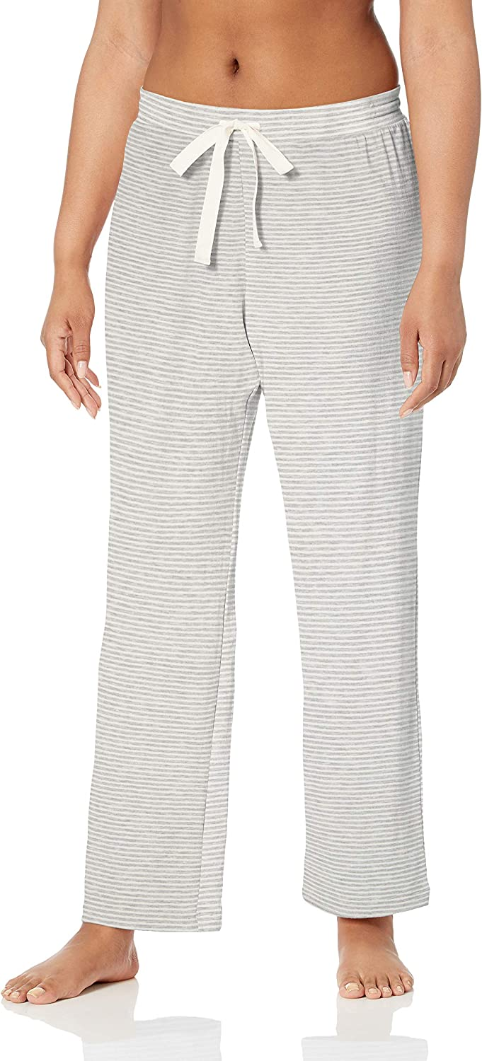 Essentials Womens Lightweight Lounge Terry Pant