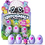 Colleggtibles Hatchimals -Magic Pink Heart Edition - 4-Pack + Bonus (Styles & Colors May Vary) by Spin Master - Season 1