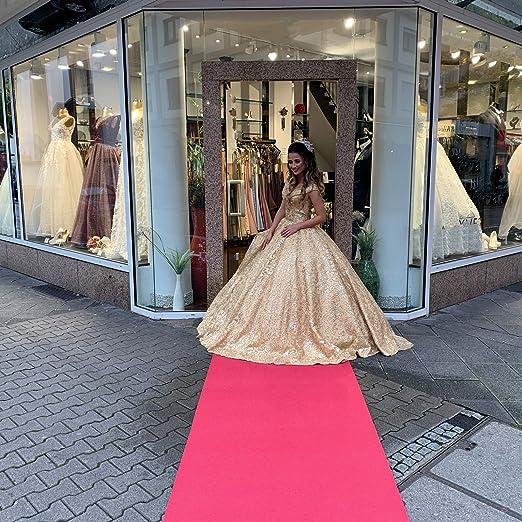 Washable Carpet Runner Weddings /& Gala Events Parties Event Carpet 100x100cm Sintra Pink up to 40m casa pura Exhibition Carpet