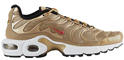 NIKE Air Max Plus Zn Se Bg Herren Ar0259 700 Metallic Gold