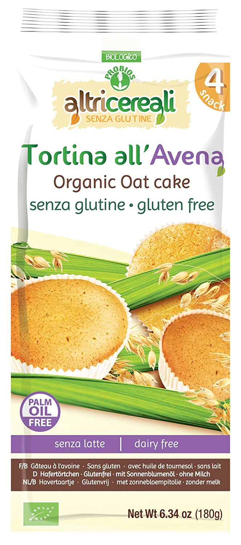 Probios AltriCereali Pastel de Avena - Paquete de 12 x 180 ...