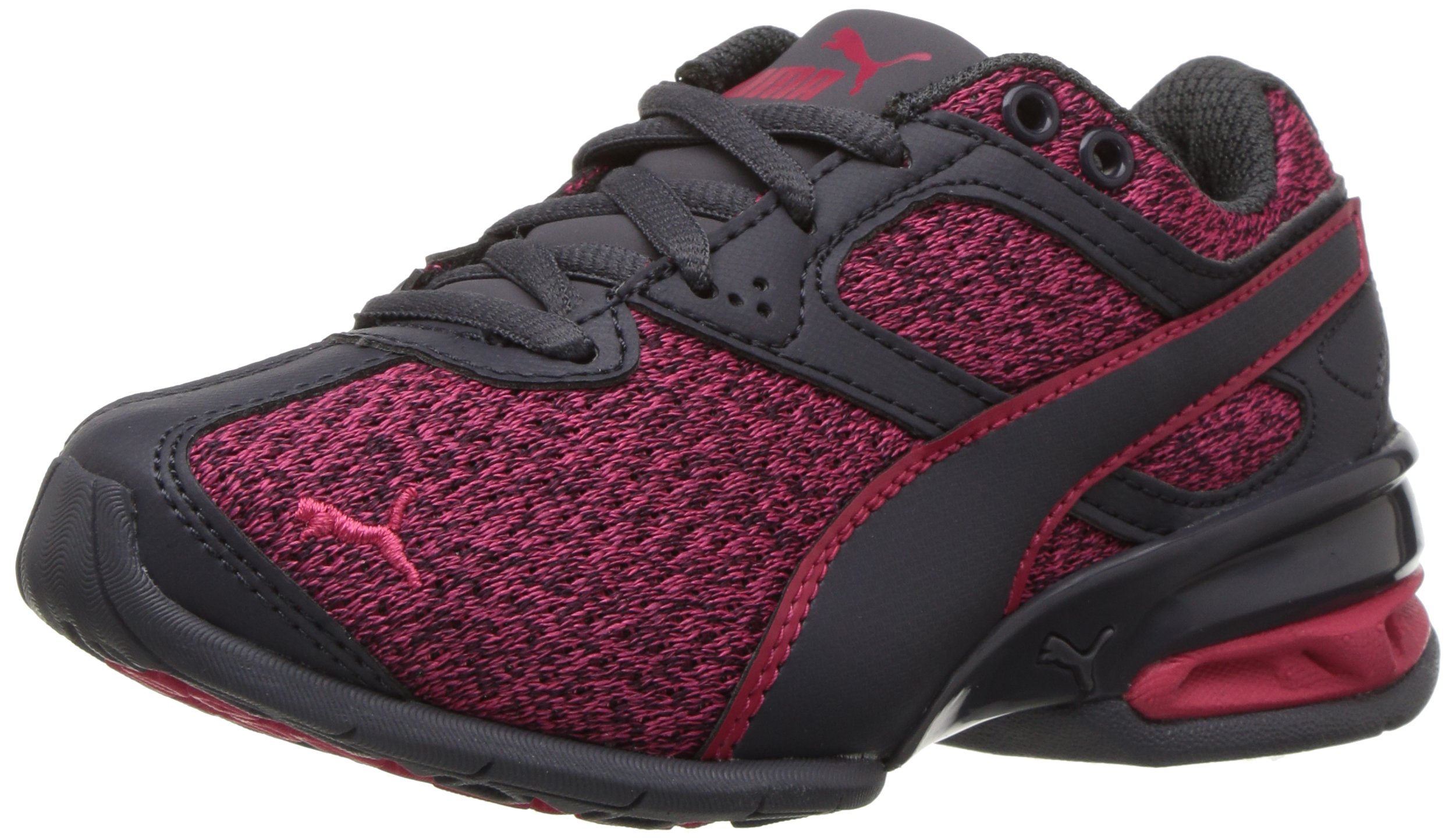 PUMA Unisex-Kids Tazon 6 Knit Sneaker, Love Potion-Periscope, 13.5 M US Little Kid