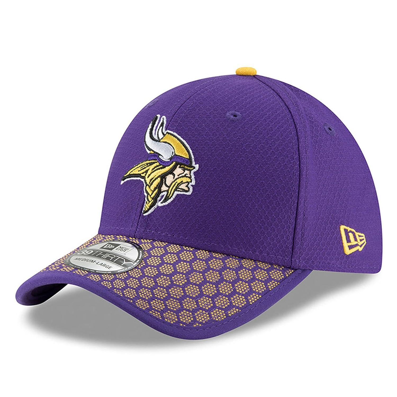 Gorra New Era - 39Thirty NFL Onf Minnesota Vikings morado amarillo talla  S M   Amazon.es  Deportes y aire libre 294dcbf0ceb