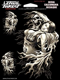 Lethal Threat Reaper Girl Decal LT88144