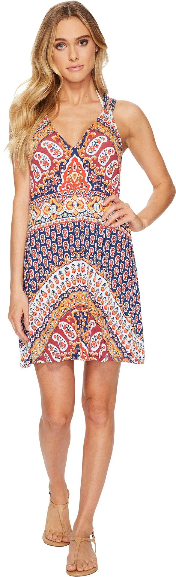Nanette Lepore Women's Super Fly Paisley Cover Short Dress, Multi, X-Small
