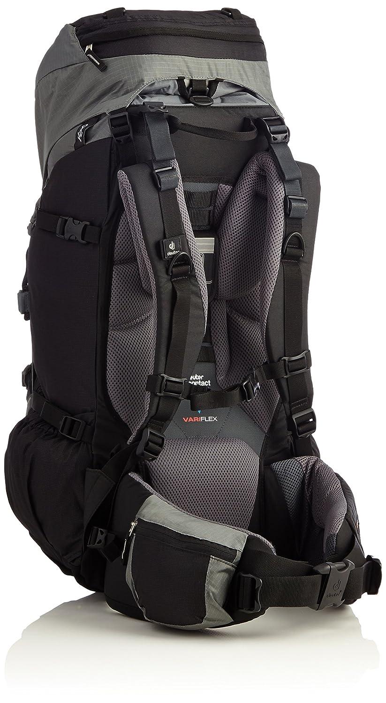 Deuter Aircontact - Mochila de senderismo (45 + 10 litros) negro black-titan Talla:74 x 34 x 25: Amazon.es: Deportes y aire libre