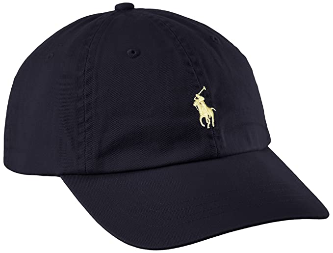 Ralph Lauren Polo Baseball Cap - Navy - One Size  Amazon.co.uk  Clothing f4120d1fe72
