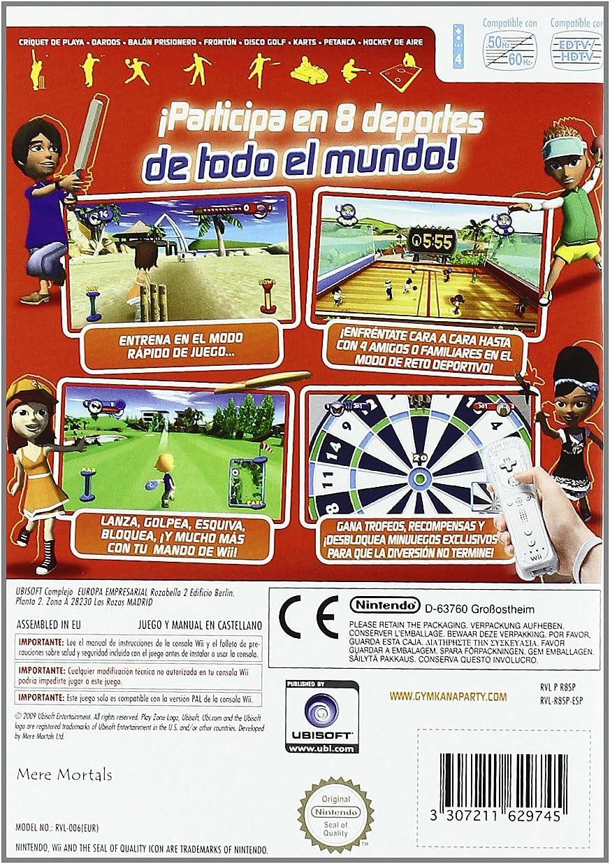 Zona de Juegos: Gymkana Party - NDS: Amazon.es: Videojuegos