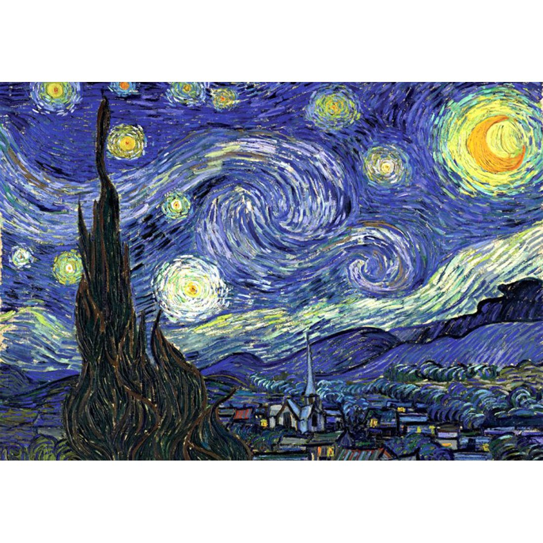 全ての おもちゃand Puzzle 1000 Piece Jigsaw おもちゃand Jigsaw 1000 Puzzle , The Starry Night 51 x 73.5 CM B078XSJ1YG, コクブンジチョウ:1b7d9d90 --- a0267596.xsph.ru