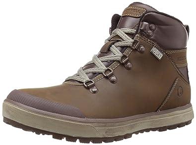 Merrell Turku Trek WTPF Herren Hohe Sneakers, Braun (Black Slate), 40