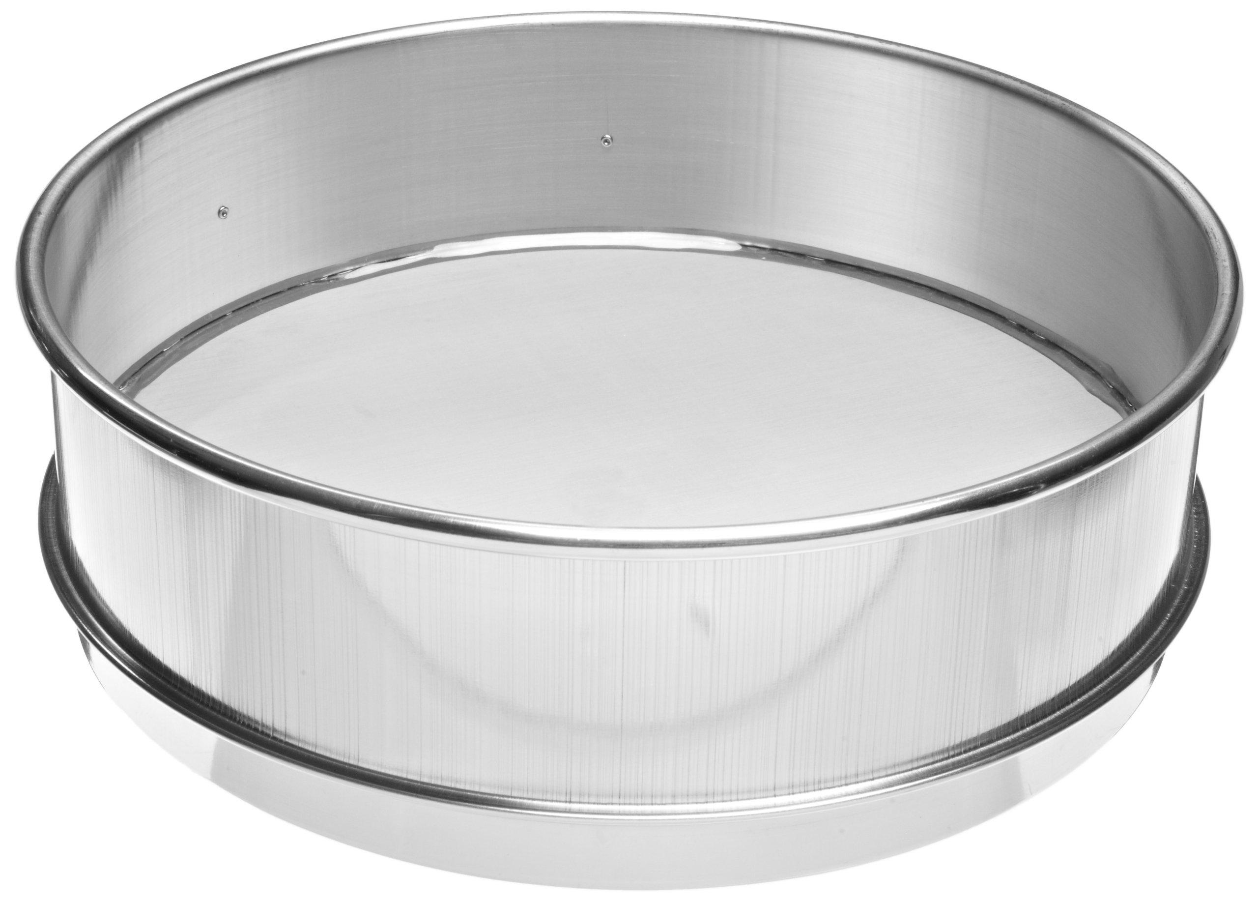 Advantech Stainless Steel Test Sieves, 8'' Diameter, #325 Mesh, Full Height