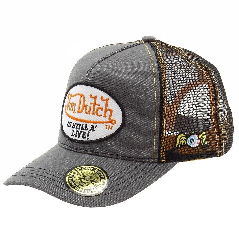 0fdb28747ae Von Dutch Men s Trucker Hat - Multi -  Amazon.co.uk  Clothing