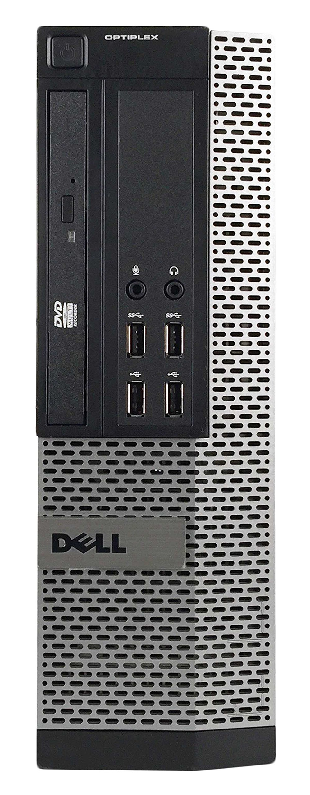 Dell OptiPlex 990 Small Form Business High Performance Desktop - PC CI5 2400 3.1G,16G DDR3,2TB,DVD,Windows 10 Pro - Black/Silver - 16VFDEDT1156