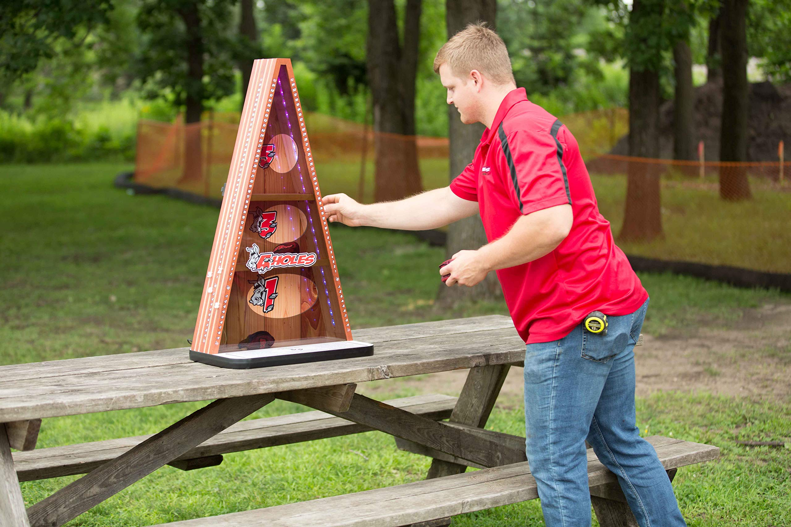 A-Holes Bean Bag Toss Game by Gronomics