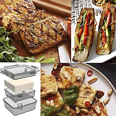 YARKOR Tofu Press Easily Remove Water from Tofu for More Delicious Safe for