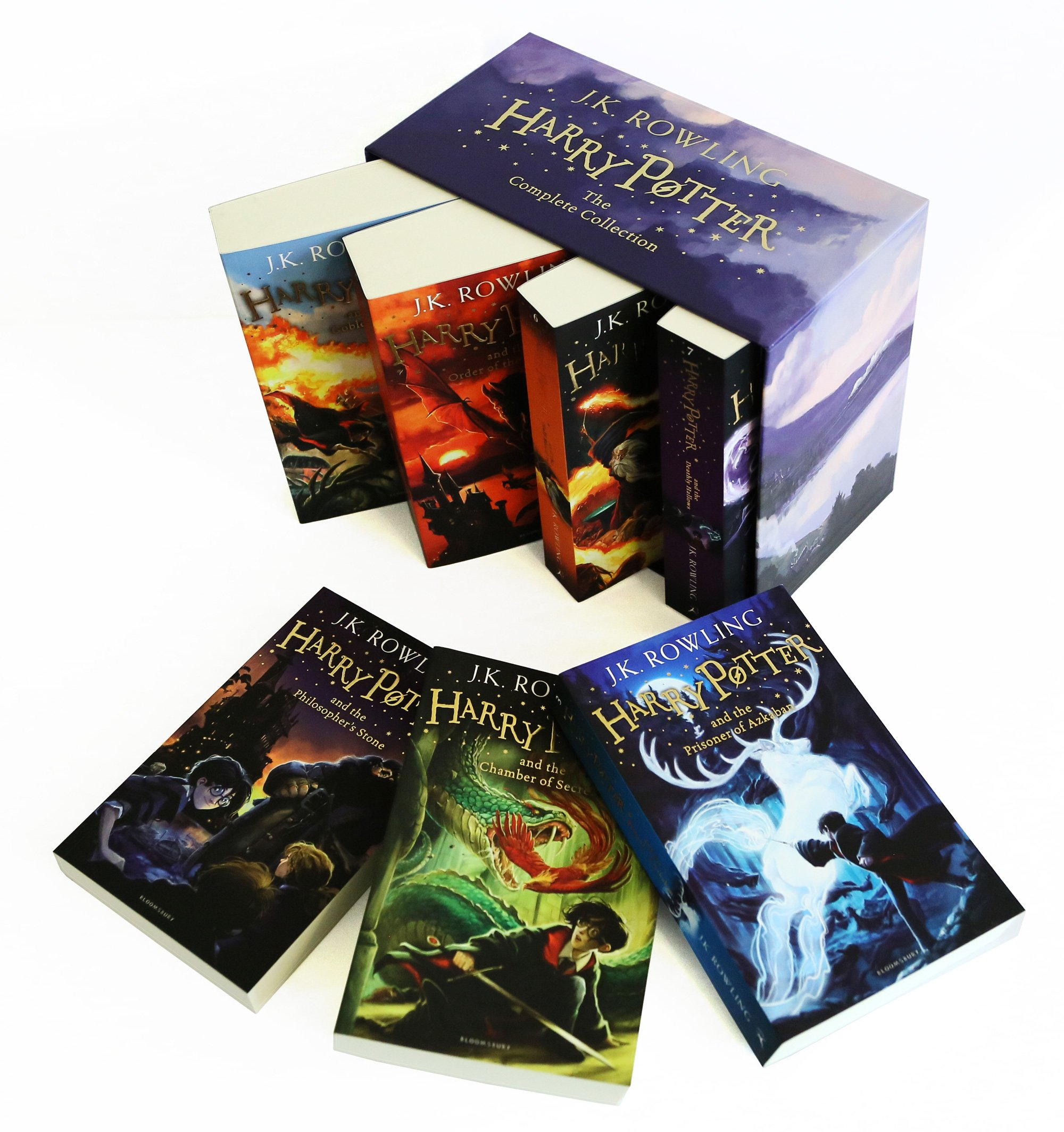 Harry Potter Box Set: The Complete Collection (Children's ...