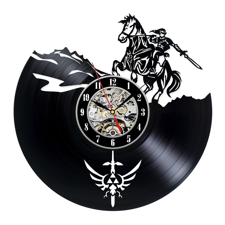 Decorative Vinyl Record Wall Clock Zelda Design Dropship Buy