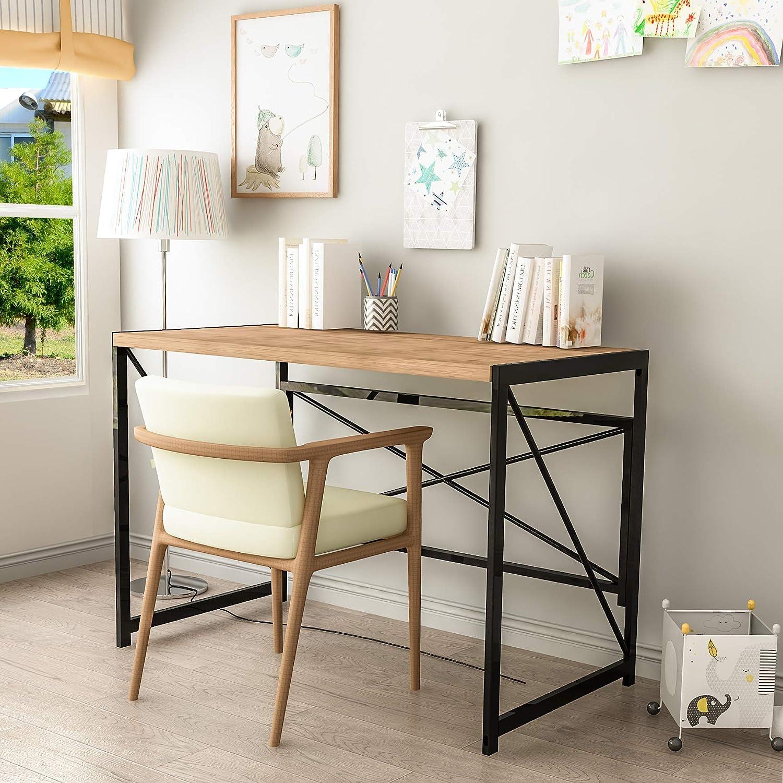 Computer Desk, Office Desk Folding Table Writing Desk 39.4