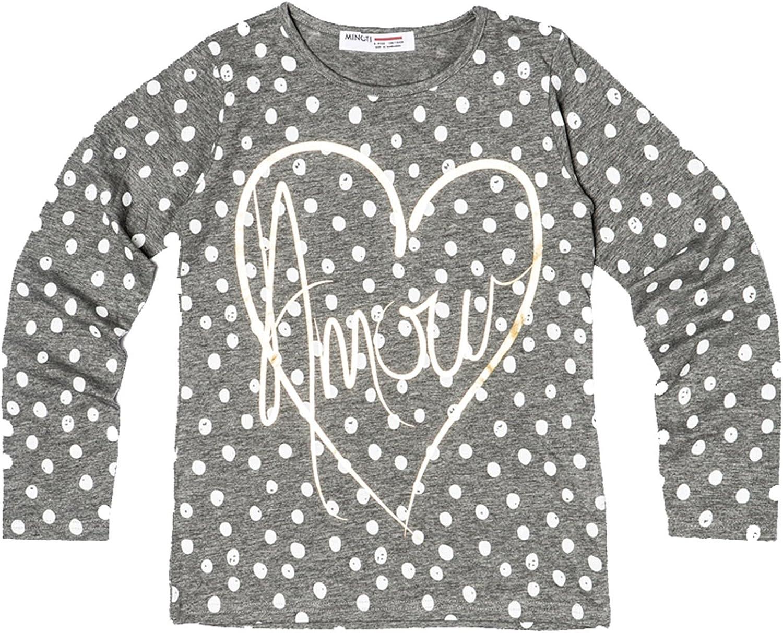 Minoti Girls Amour Grey Top