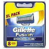 Gillette Fusion ProGlide Men's Razor Blades - 8 Blades - Frustration free packaging