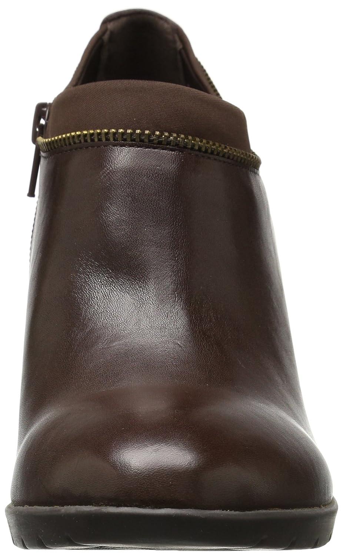 Anne Klein Women's Dalayne US|Dark Ankle Bootie B01G6YYDXI 9 B(M) US|Dark Dalayne Brown 22772b