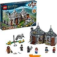 LEGO Harry Potter Hagrid's Hut: Buckbeak's Rescue 75947 Toy Hut Building Set from The Prisoner of Azkaban Features Buckbeak