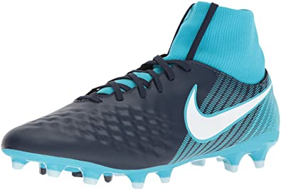 Nike Magista Onda II DF FG Men Soccer Cleats-Obsidian White Size: 10