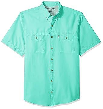8cecee60134 Amazon.com: G.H. Bass & Co. Men's Big and Tall Explorer Short Sleeve  Fishing Shirt: Clothing
