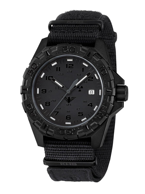 KHS Tactical Watches Reaper XTAC MilitÄr Armbanduhr Nato black KHS.REXT.NXT1