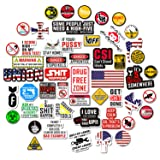 Hard Hat Stickers [Big 50 PCS] - Funny Sticker