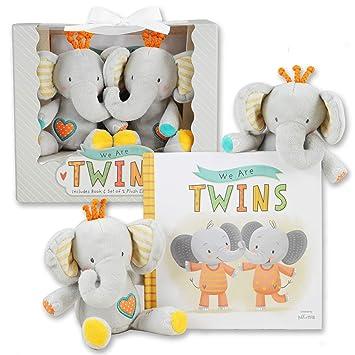 Amazon.com: We are Twins – Juego de regalo doble para bebé y ...