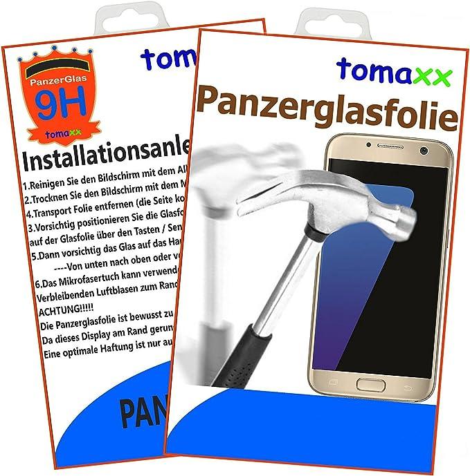 Tomaxx Glas Für Samsung Galaxy J7 Duos J730 2017 Elektronik