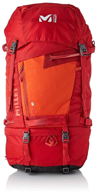 4cd7c802cf MILLET Ubic 40, Sac à dos Homme, Multicolore (Rouge/Orange), 24x45x15  centimeters (W x H x L): Amazon.fr: Chaussures et Sacs