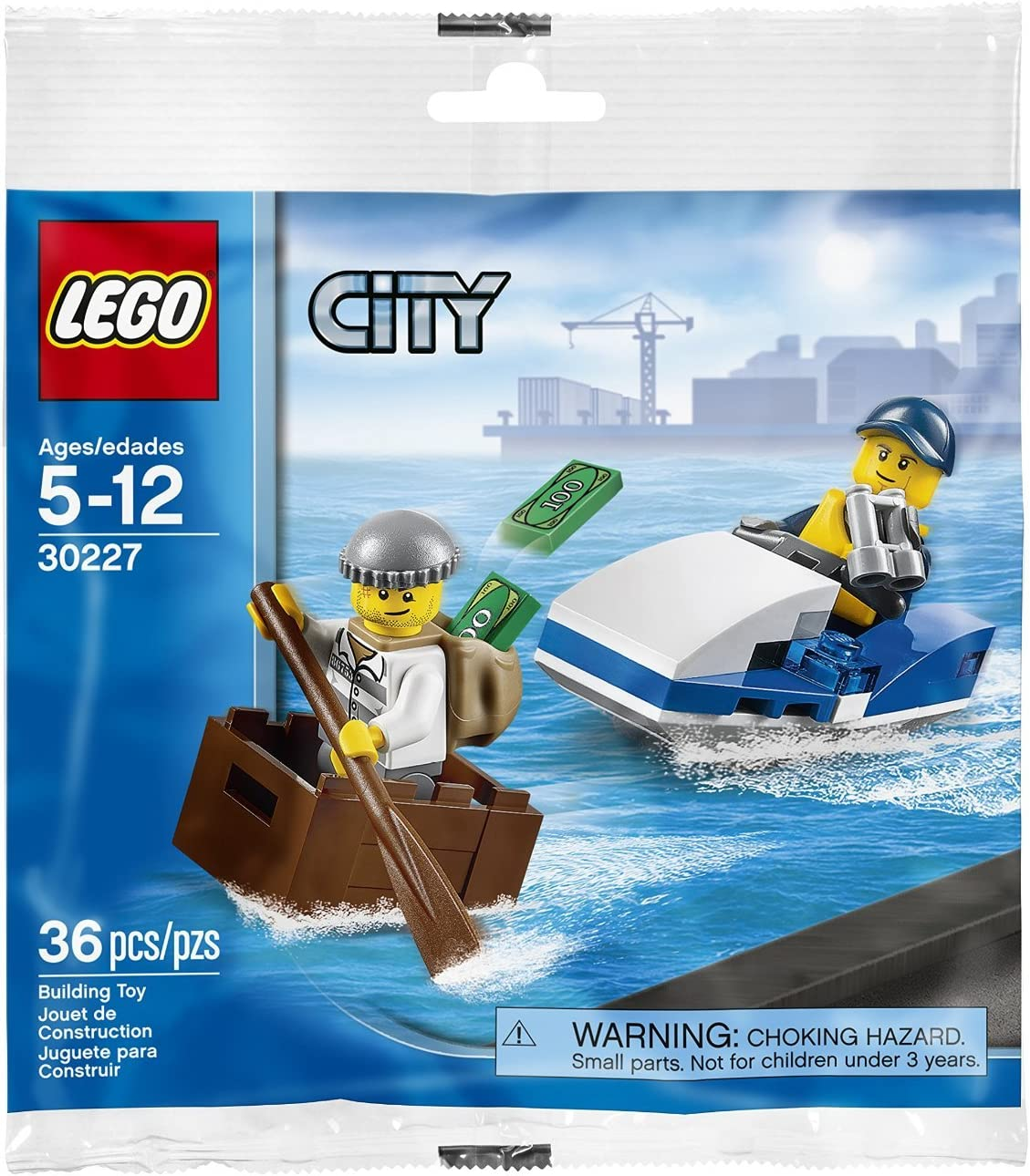 LEGO City Set #30227 City Police Watercraft [Bagged]