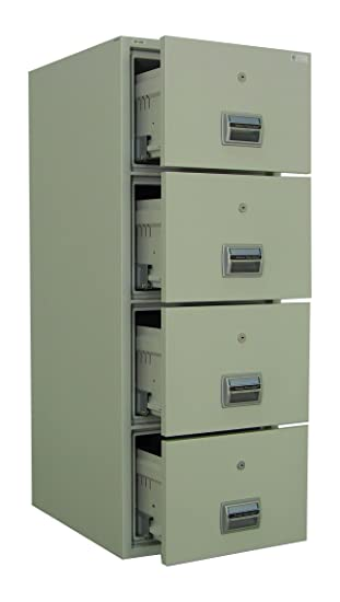 Awesome AMFFC 400 Fireproof And Burglary Resistant 4 Drawer File Cabinet
