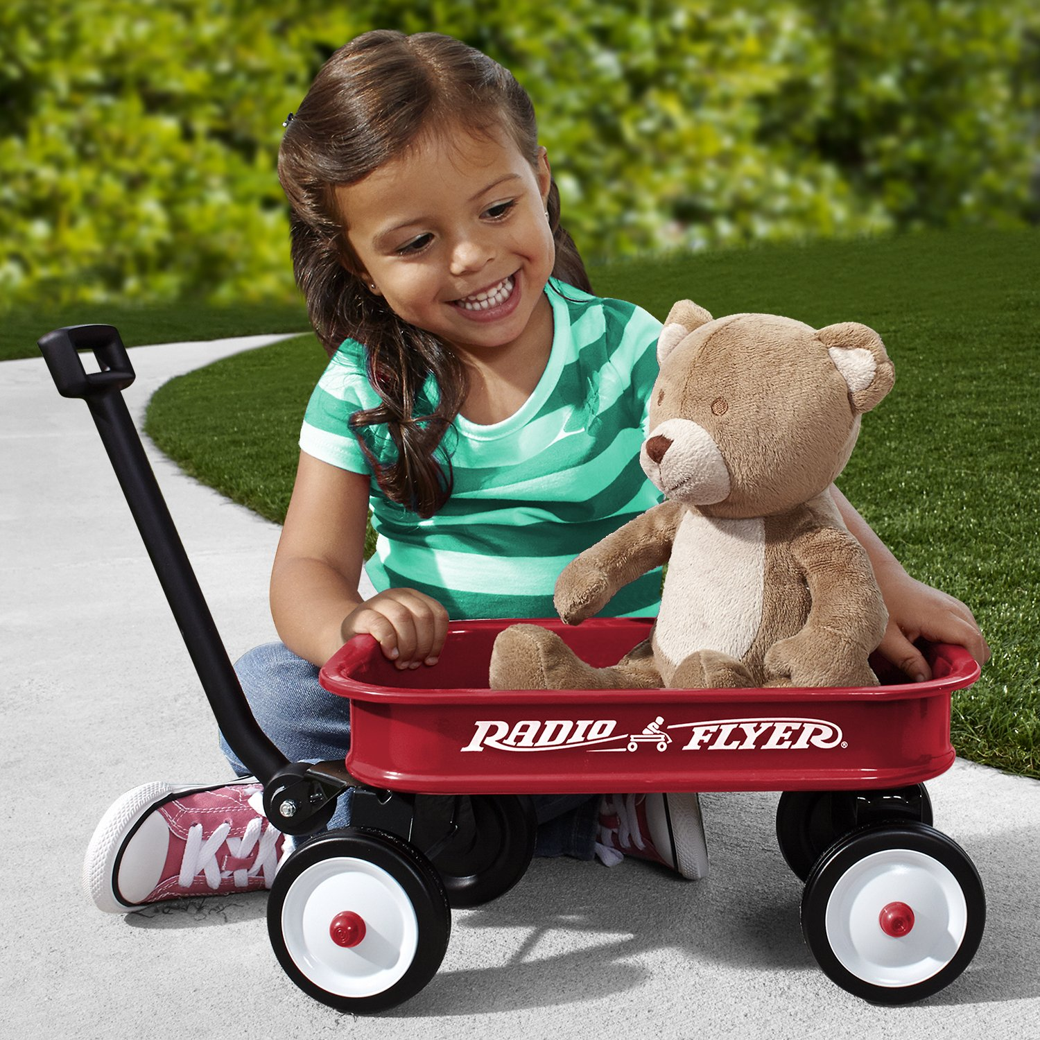Radio Flyer Little Red Toy Wag...